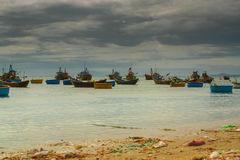 Mar bonito Imagem de Stock Royalty Free