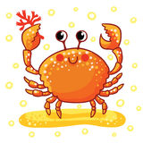 Mar bonito dos desenhos animados ilustração stock