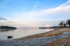 Mar bonito e cores Fotografia de Stock Royalty Free