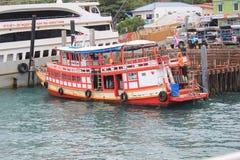 Mar bonito em Koh Samui Imagem de Stock