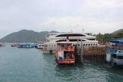 Mar bonito em Koh Samui Imagens de Stock