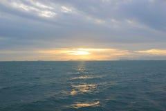 Mar bonito em Samui Foto de Stock