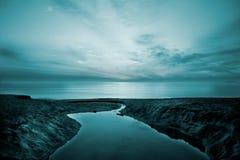 Mar-Bourgas preto   Fotos de Stock