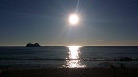 Mar brillante del cortez, Mazatlan Fotos de archivo