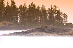 Mar brumoso Imágenes de archivo libres de regalías