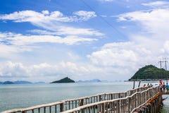 Mar & céu foto de stock