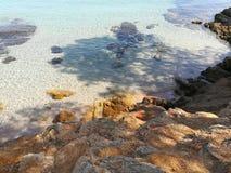 Mar caliente en Italia Imagen de archivo libre de regalías