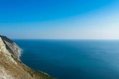 Mar calmo na manhã Foto de Stock