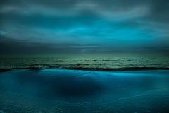 Mar Calo-Preto Imagens de Stock Royalty Free