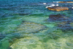 Mar Caspio. Fotografía de archivo libre de regalías