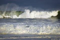 Mar causando um crash Fotos de Stock