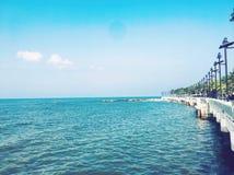 Mar Chonburi bangsan Tailandia fotografía de archivo