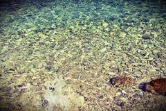 Mar claro de Jadran foto de archivo