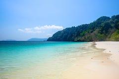 Mar claro do azul da reivindicação Foto de Stock Royalty Free