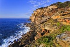 Mar Cliff Providence Point de RNP Imagen de archivo libre de regalías
