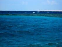 Mar coloreado tres Foto de archivo libre de regalías