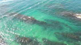 Mar colorido Fotos de archivo