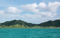 Mar colorido Imagens de Stock