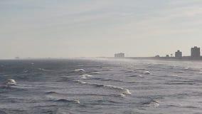 Mar con las mini ondas Foto de archivo
