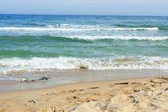Mar con las ondas Imagen de archivo