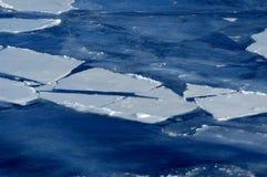 Mar congelado Foto de archivo libre de regalías