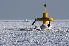 Mar congelado Foto de Stock