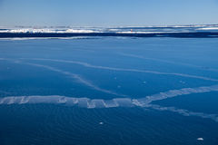 Mar congelado foto de stock royalty free