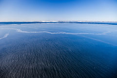Mar congelado Imagen de archivo libre de regalías