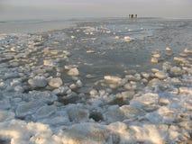 Mar congelado Fotografía de archivo