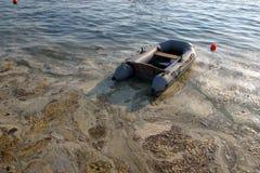 Mar contaminado Foto de archivo libre de regalías