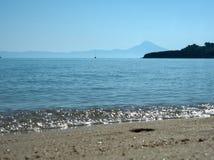 Mar Costa de Grecia Imagen de archivo libre de regalías