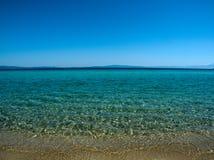 Mar Costa de Grecia Fotos de archivo libres de regalías
