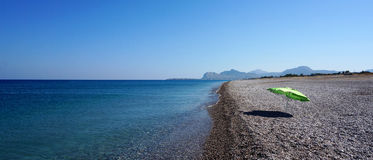 Mar da água a mais limpa Fotografia de Stock Royalty Free