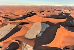 Mar da areia de Namib - Namíbia Imagem de Stock