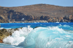 Mar da costa Foto de Stock Royalty Free