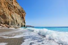 Mar da costa Fotografia de Stock Royalty Free