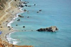 Mar da costa Imagem de Stock