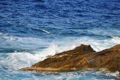 Mar da costa Fotografia de Stock