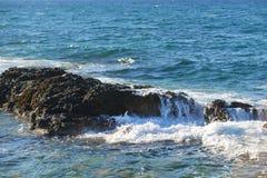 Mar da costa Imagem de Stock Royalty Free