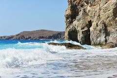 Mar da costa Foto de Stock