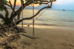 Mar da estância de verão Fotos de Stock Royalty Free