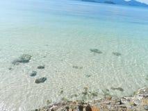 Mar da ilha de Tailândia Fotos de Stock Royalty Free