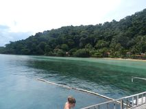 Mar da ilha de Tailândia Fotografia de Stock Royalty Free