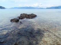 Mar da ilha de Tailândia Imagens de Stock Royalty Free