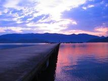 Mar da ponte Foto de Stock Royalty Free