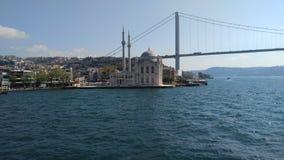 Mar da ponte da mesquita Imagens de Stock