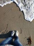 Mar da praia fotos de stock
