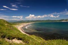 Mar da região de Rússia Extremo Oriente de japão Imagens de Stock Royalty Free