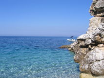Mar da reserva natural do Zingaro fotografia de stock royalty free