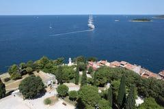 Mar de adriático, Croatia Fotos de Stock
